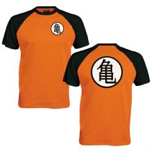 Turtle Chinese Training Symbol Baseball T-Shirt Dragon Anime Inspired Fan Top
